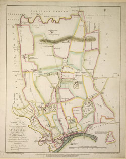 An actual survey and plan of the Processional Boundaries of the Parish of Ealing. ... Survey'd and drawn by A. Bassett